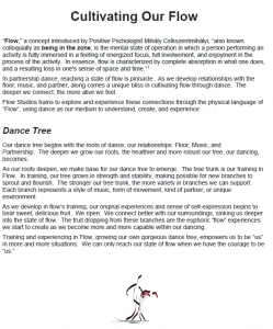 Cultivate Our Dance Flow